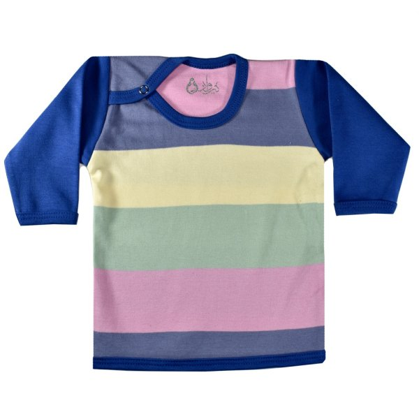 تی شرت آستین بلند نوزادی نیروان طرح خوش پوش کد1