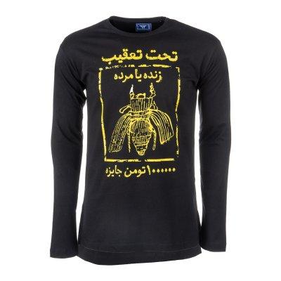تصویر تی شرت نخی یقه گرد مردانه – 63