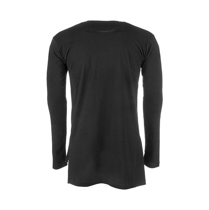 تی شرت نخی آستین بلند مردانه - 63