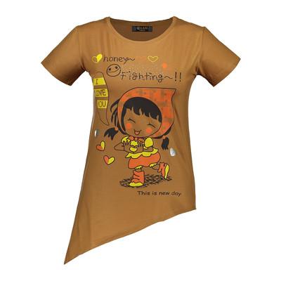تصویر تی شرت زنانه مدل Jam 3121 BR