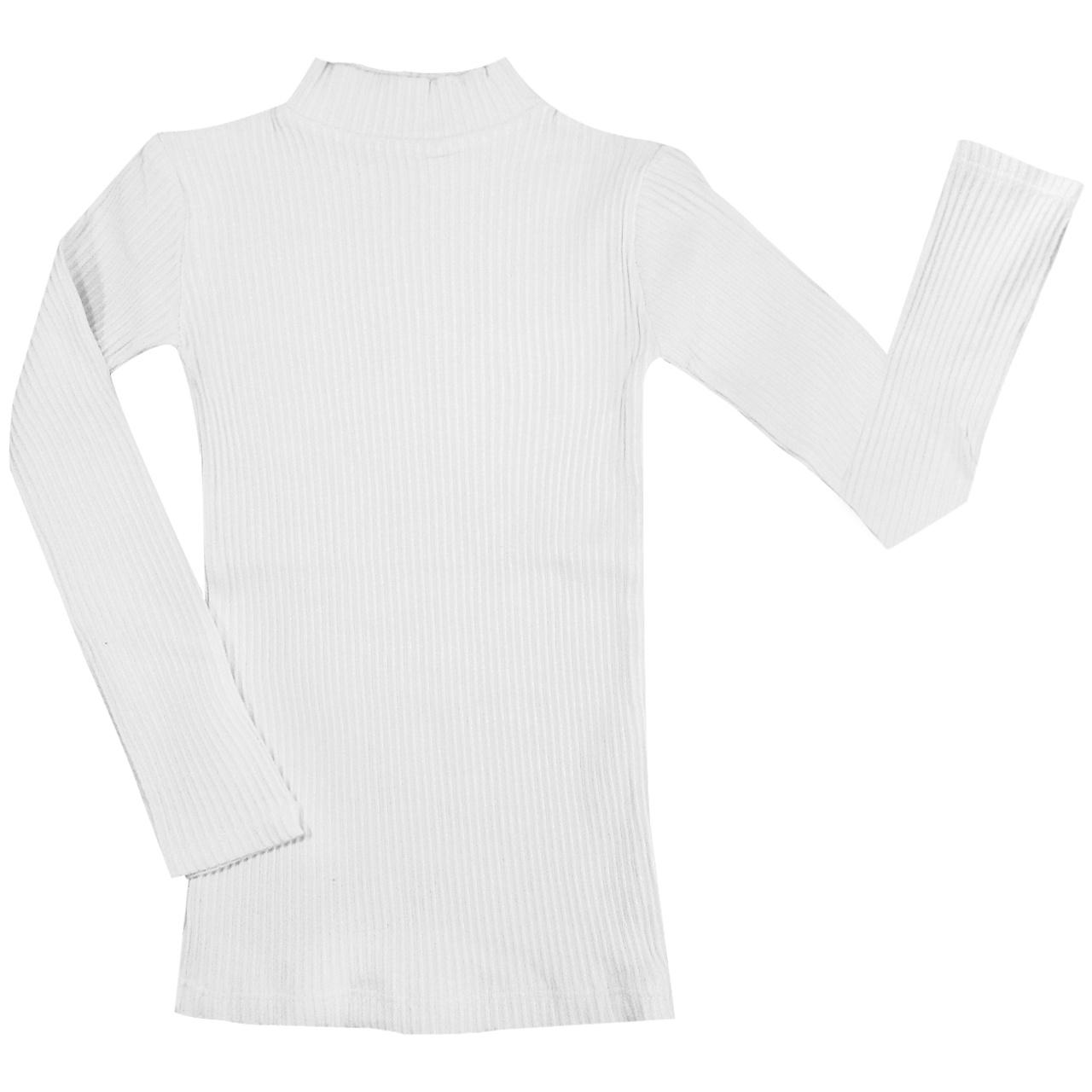 بلوز دخترانه مدل Matches رنگ سفید