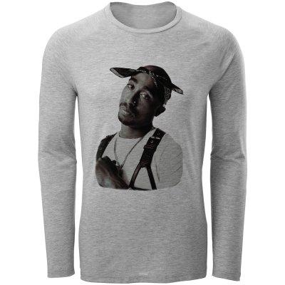 تصویر تی شرت مردانه طرح توپاک کد B17