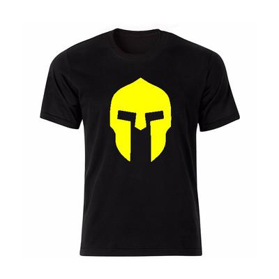 تصویر تی شرت آستین کوتاه طرح نقاب گلادیاتور کد BY13446