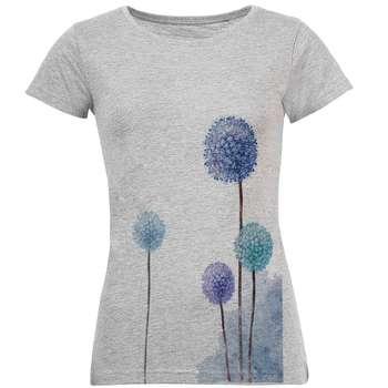 تی شرت زنانه طرح قاصدک کد S28