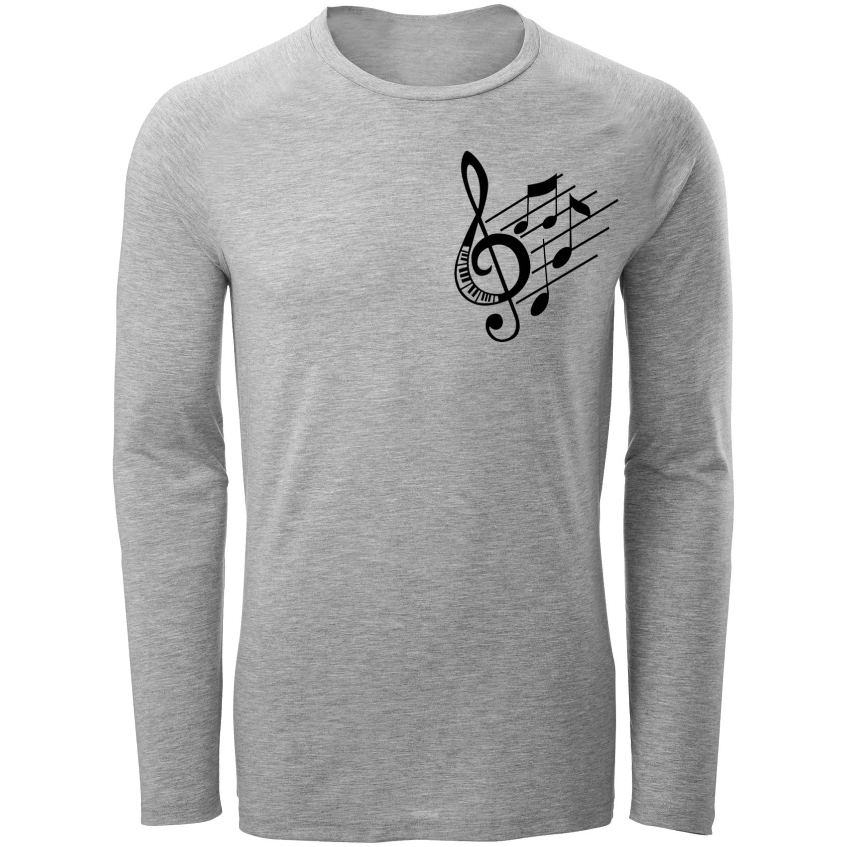 تی شرت مردانه طرح موزیک  کد c13