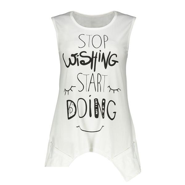 تونیک زنانه مدل Stop Wishing