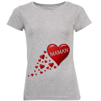 تیشرت زنانه طرح Maman  کد C31