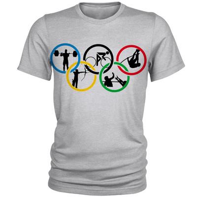 Photo of تیشرت مردانه طرح المپیک کد C06