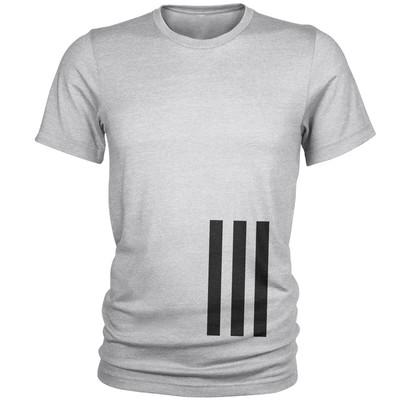تصویر تی شرت مردانه طرح سه خط کد C21