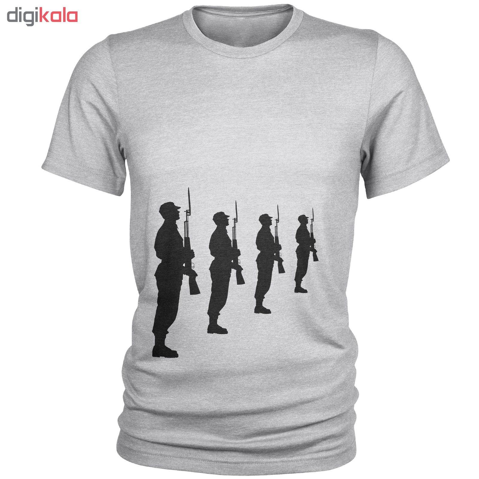 تی شرت مردانه طرح سرباز کد C17