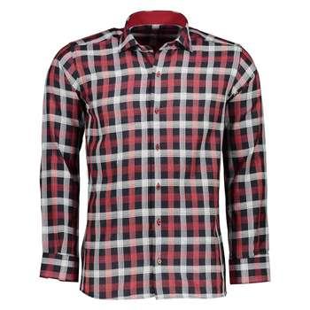 پیراهن مردانه امپریو طرح چهارخانه کد 1003