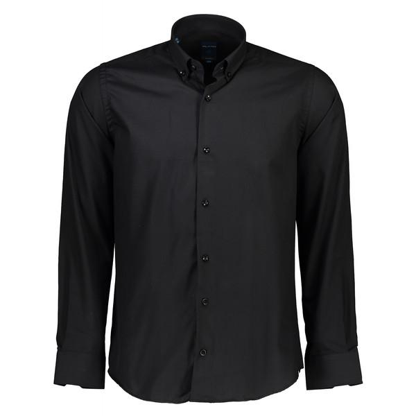 پیراهن مردانه پلاتین کد 1013 رنگ مشکی