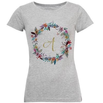 تصویر تی شرت زنانه طرح A کد S156