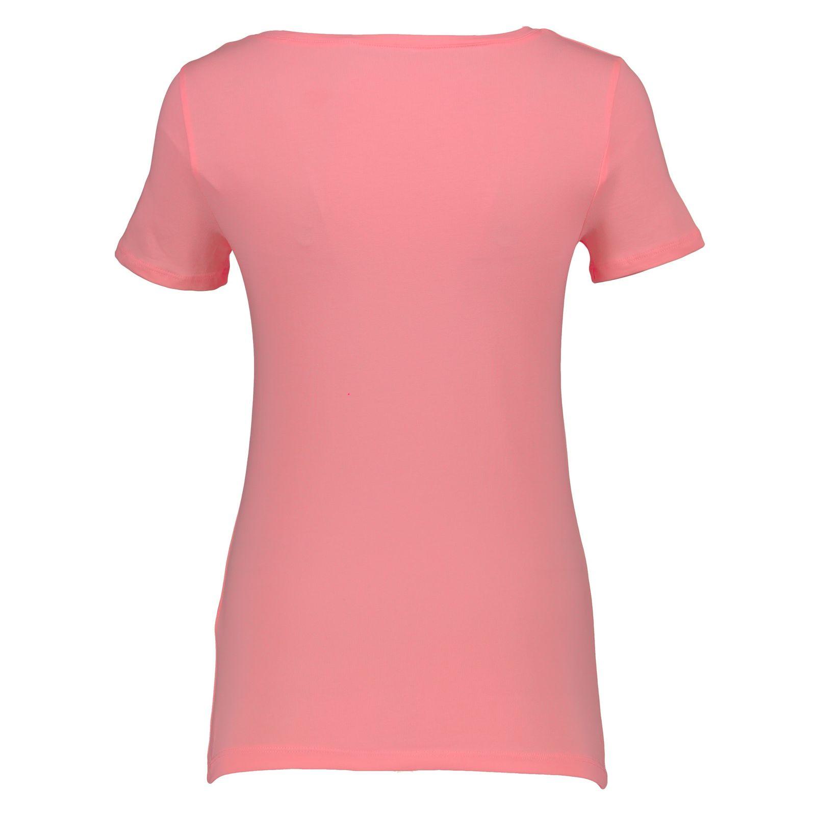 تی شرت زنانه ال سی وایکیکی مدل 9SK760Z8-L5K -  - 3