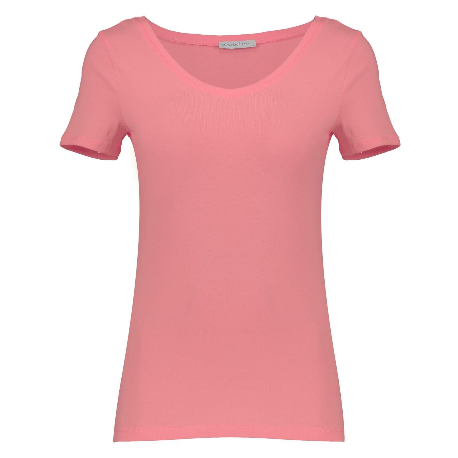 تی شرت زنانه ال سی وایکیکی مدل 9SK760Z8-L5K -  - 1