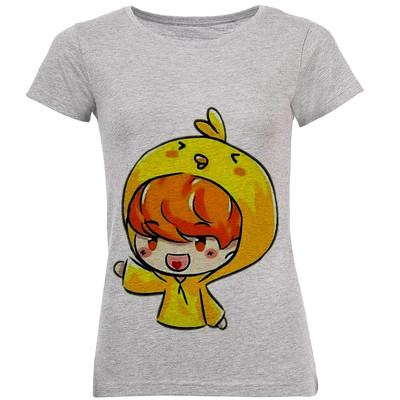 تصویر تی شرت زنانه طرح بچه کوچولو کد B117