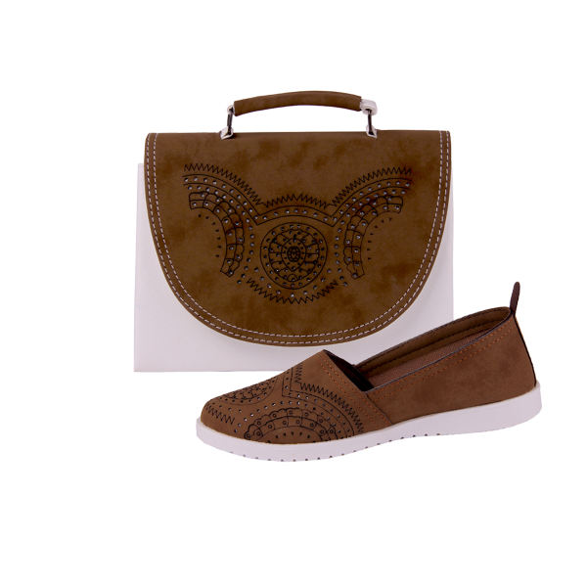 ست کیف و کفش زنانه کد 1126