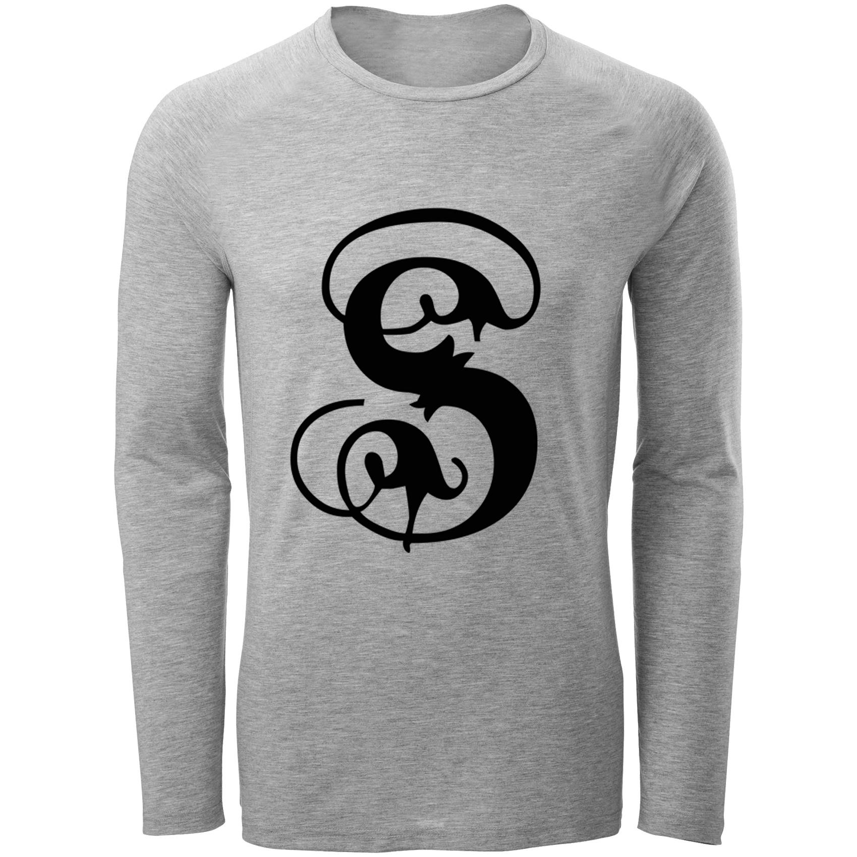 Photo of تی شرت مردانه طرح حرف S کد B105