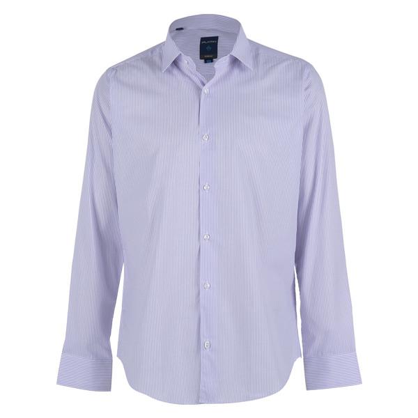 پیراهن مردانه پلاتین طرح راه راه کد 1018