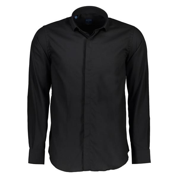 پیراهن مردانه پلاتین کد 1014 رنگ مشکی