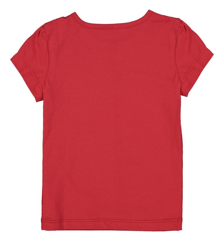 تی شرت دخترانه ال سی وایکیکی مدل 9SG627X4-H1T
