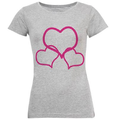تی شرت زنانه طرح LOVE کد S140