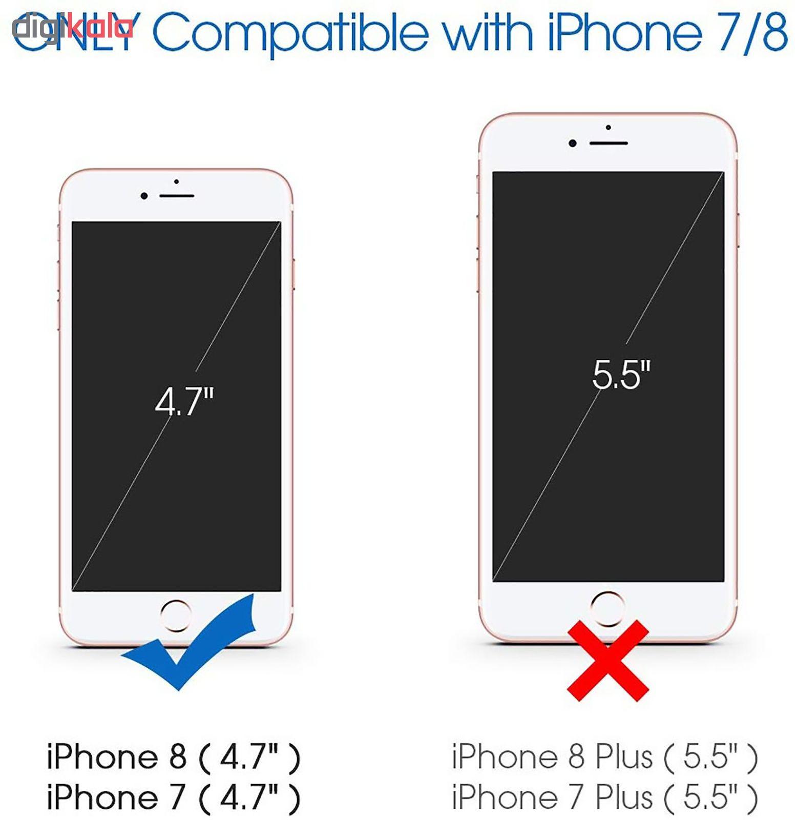 کاور مدل Silc مناسب برای گوشی موبایل اپل Iphone 8 / iphone 7 main 1 17