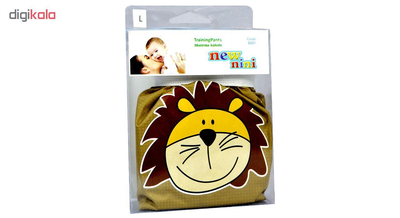 شورت آموزشی کودک نیو نی نی مدل Lion سایز L