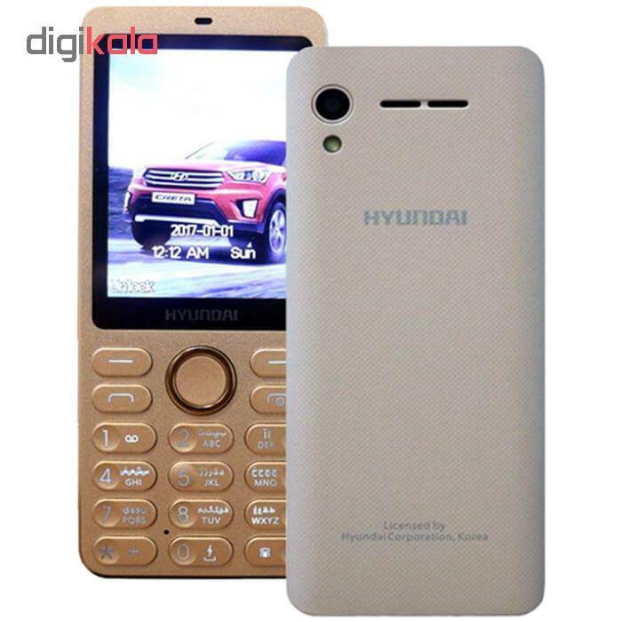گوشی موبایل هیوندای مدل seoul K2 دو سیم کارت main 1 6