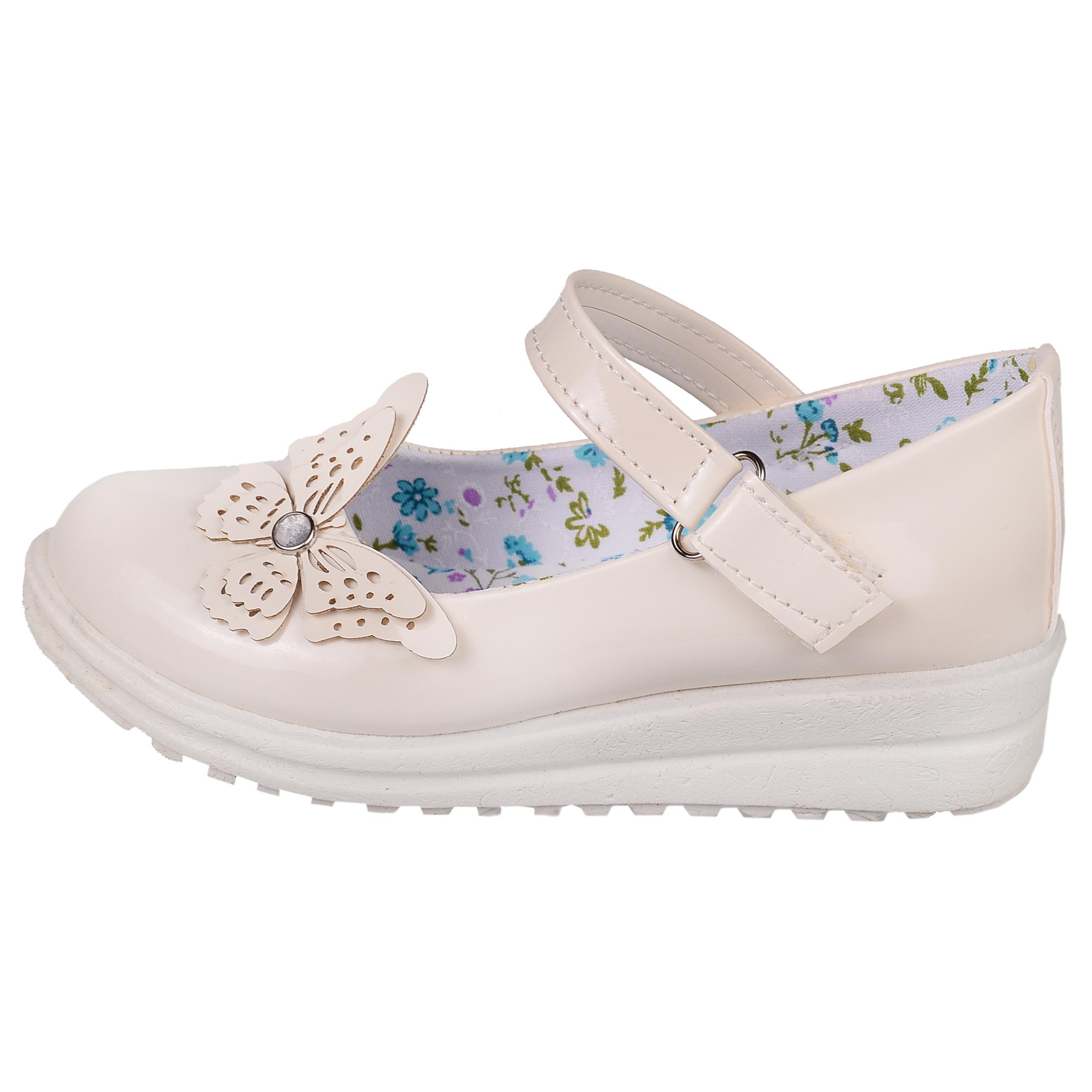 تصویر کفش دخترانه مدل پروانه  کد 3558