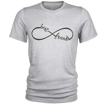 تی شرت مردانه طرح Best Firend  کد C44