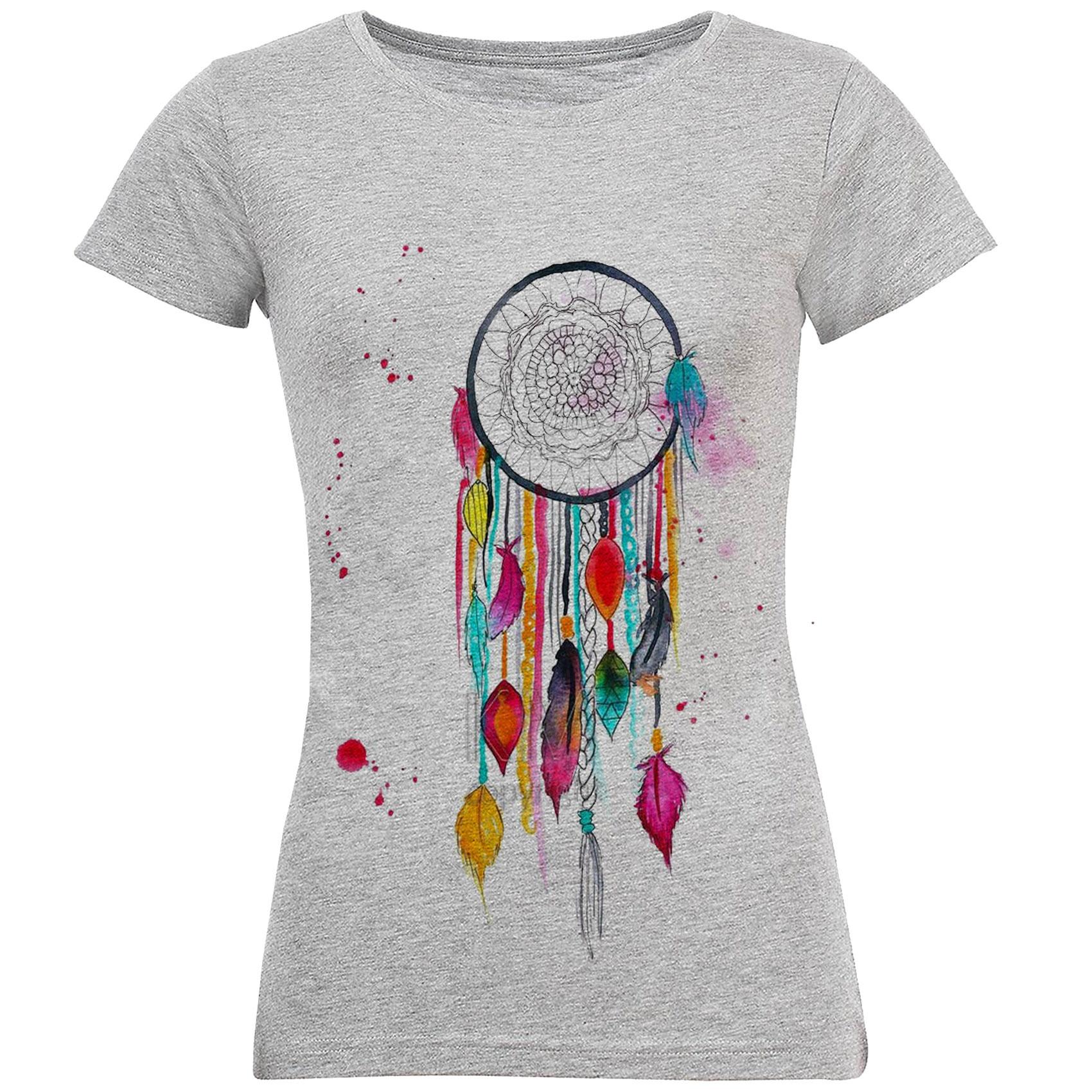 تی شرت زنانه طرح دریم کچر کد S183