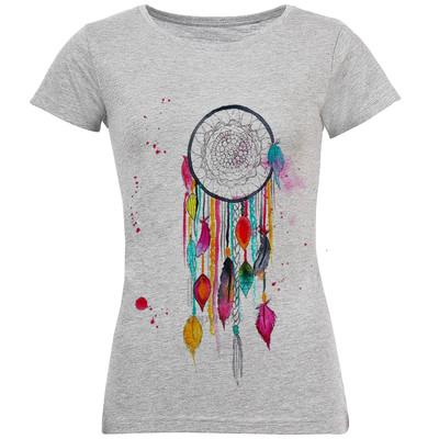 تصویر تی شرت زنانه طرح دریم کچر کد S183