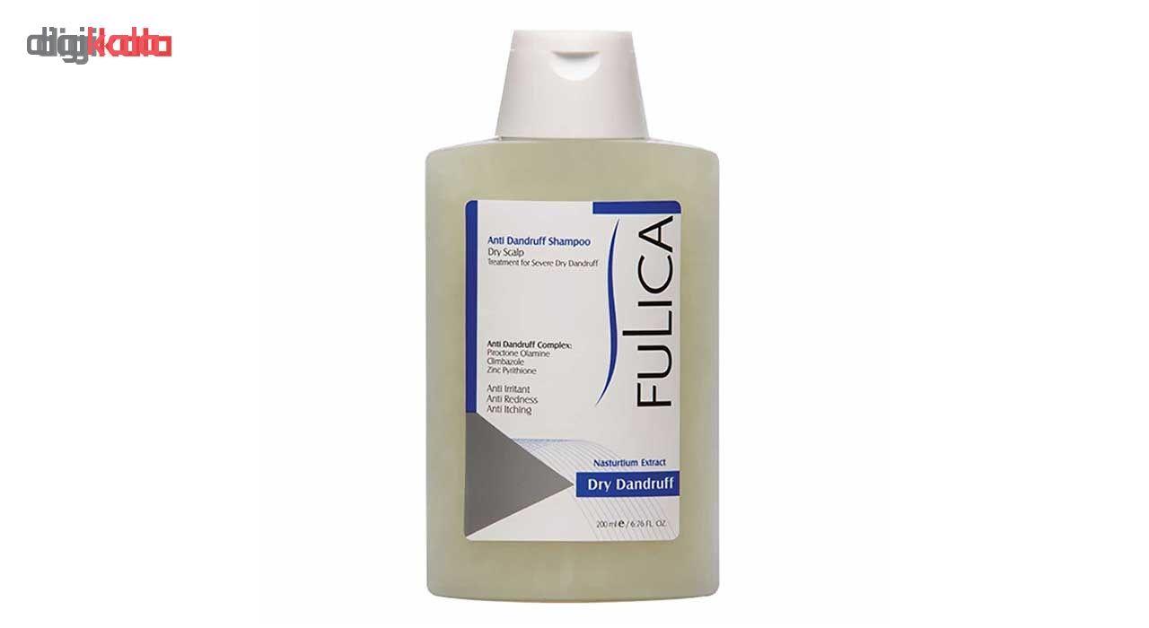 شامپو ضد شوره فولیکا مخصوص موهای خشک حجم 200 میلی لیتر main 1 1