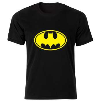 تی شرت آستین کوتاه مردانه طرح بتمن کد 20459 BY