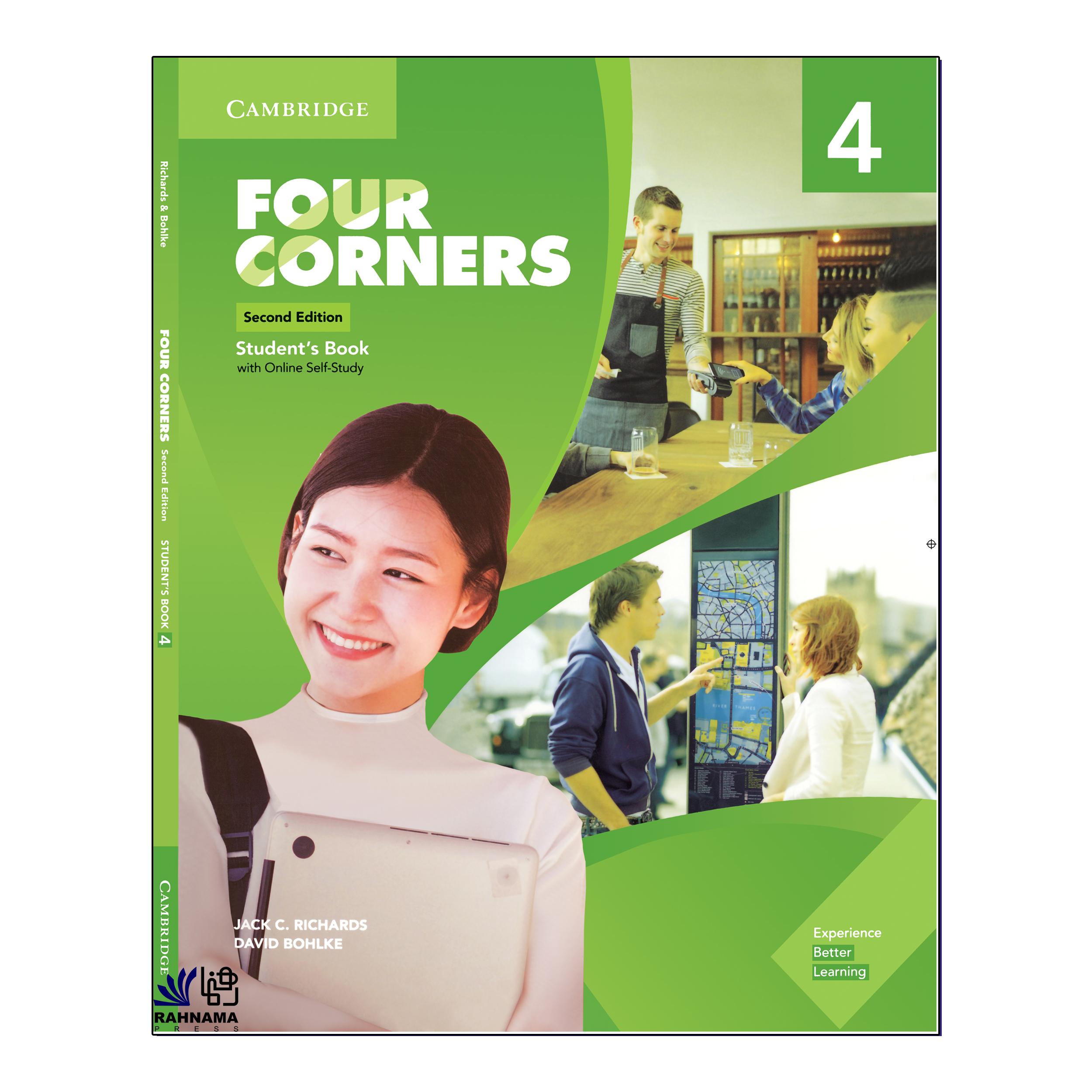 خرید                      کتاب FOUR CORNERS 4 اثر JACK C.RICHARDS AND DAVID BOHLKE انتشارات رهنما