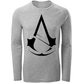 تی شرت آستین بلند مردانه طرح Assassin's Creed کد AL053