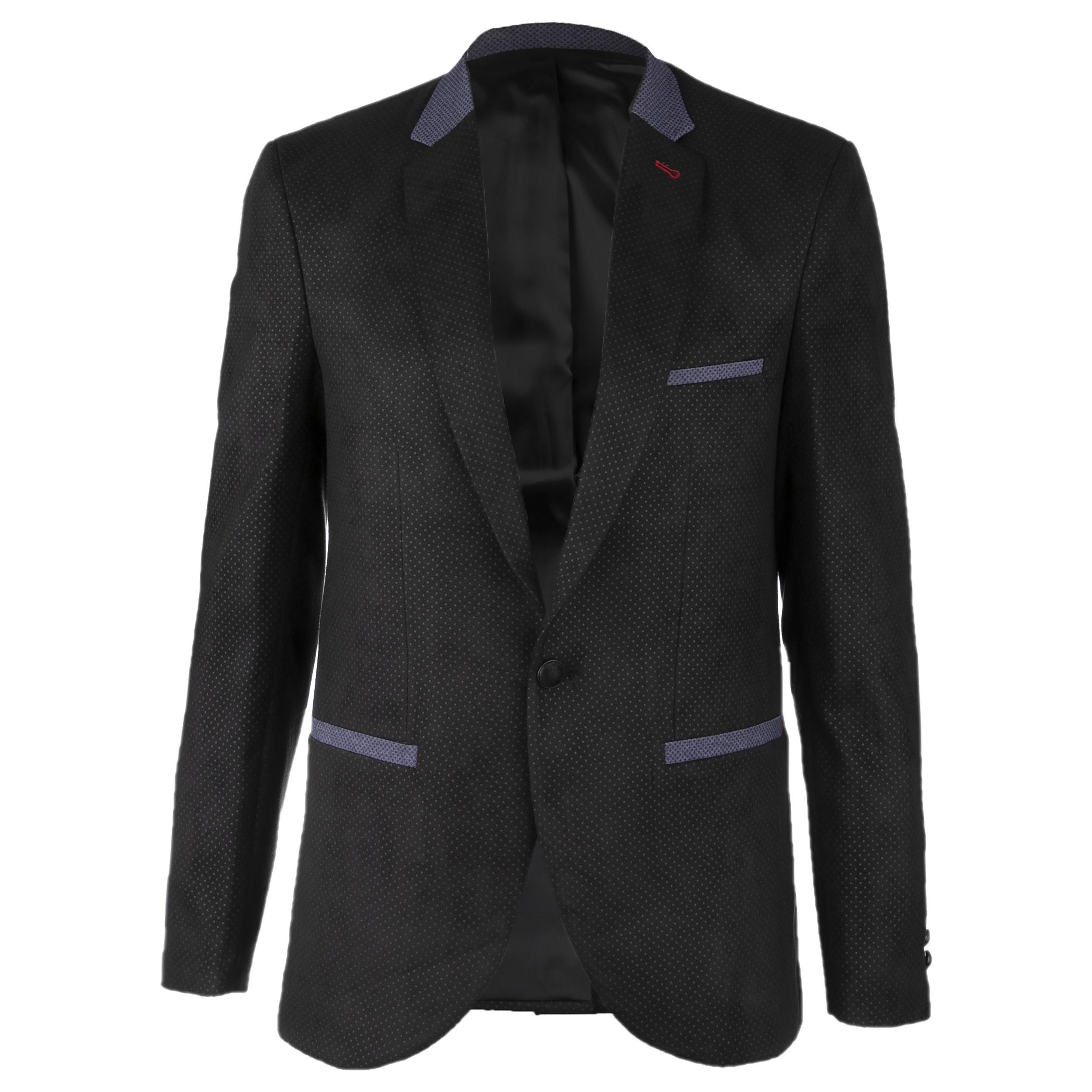 کت تک مردانه کد MKHBLK1052