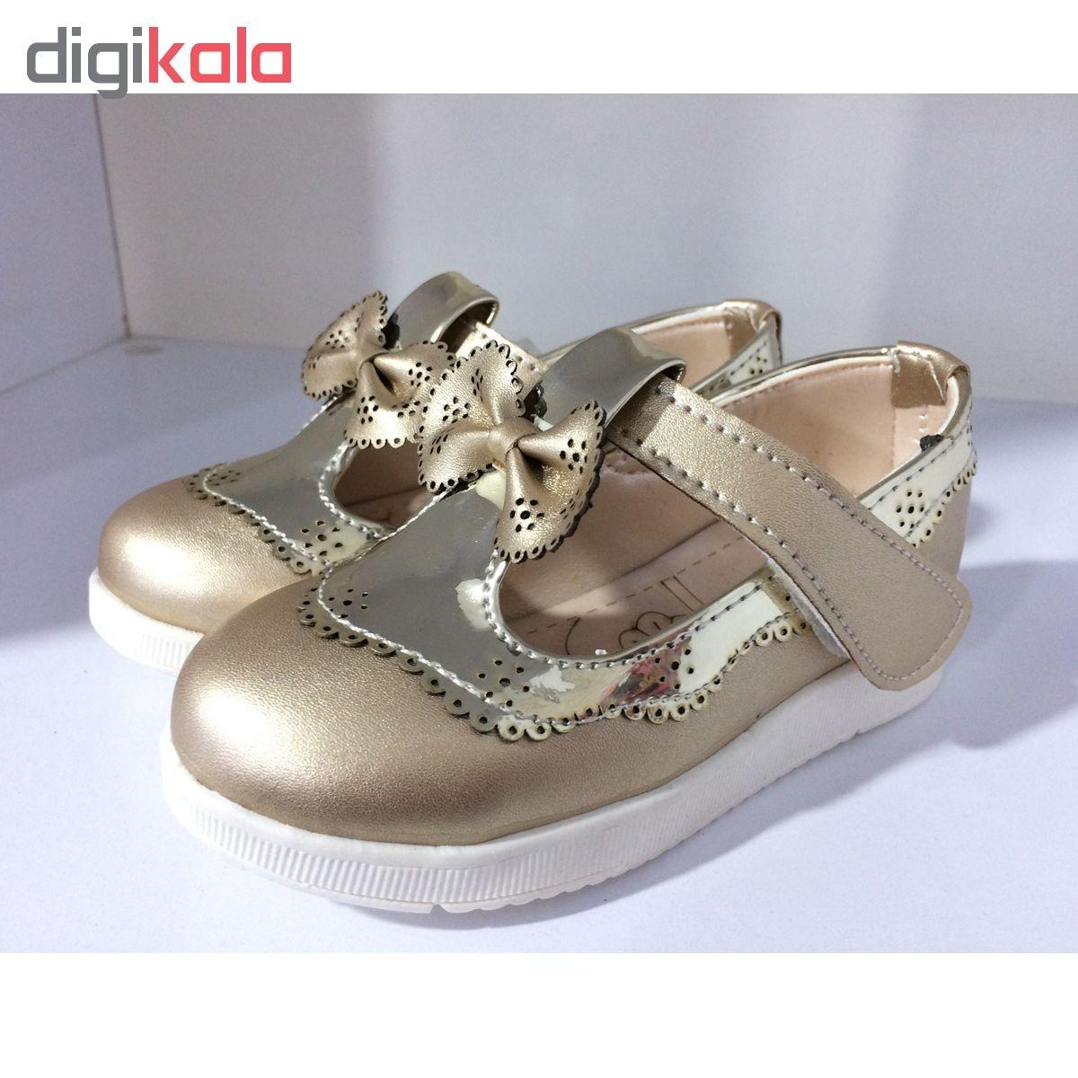 کفش دخترانه مدل Sogh-Gold