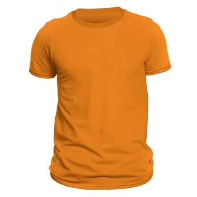 Photo of تیشرت آستین کوتاه مردانه کد DC-1TOR رنگ نارنجی
