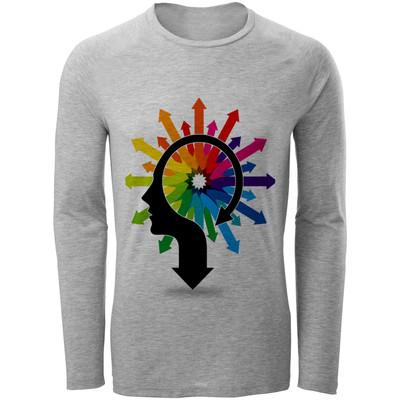 تصویر تی شرت مردانه طرح فلش کد B134