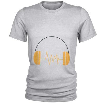 Photo of تی شرت مردانه طرح هدفون کد C53
