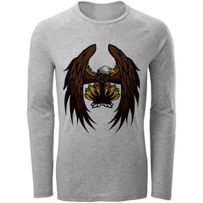 تصویر تی شرت مردانه طرح عقاب کد B158