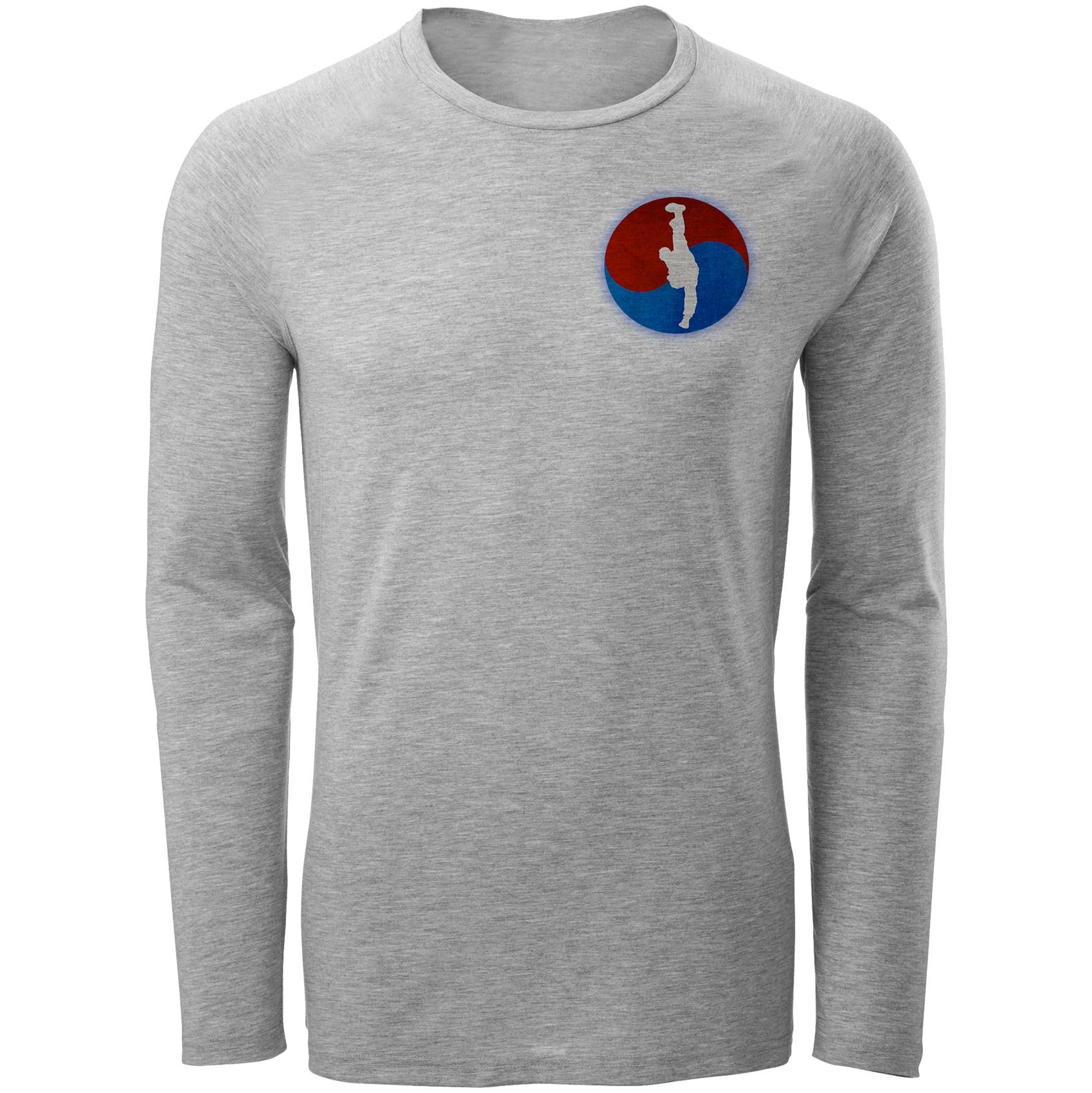 Photo of تی شرت آستین بلند مردانه طرح تکواندو کد C71