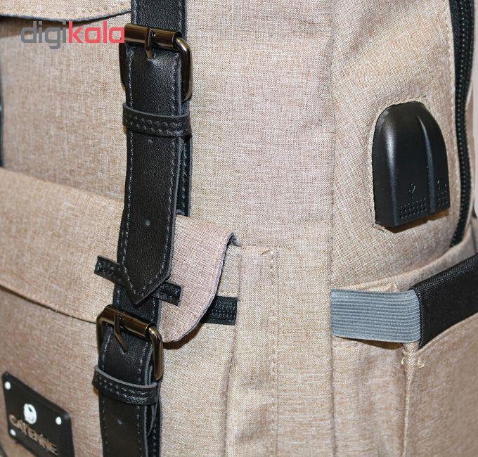 کوله پشتی لپ تاپ کاین مدل 01_Helios مناسب برای لپ تاپ 15.6 اینچی