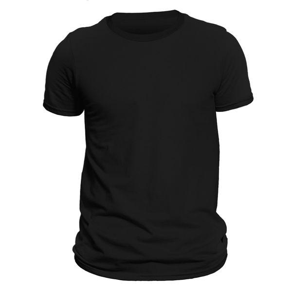 تیشرت آستین کوتاه مردانه کد 1ABL رنگ مشکی