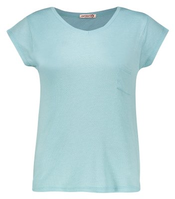 تی شرت زنانه افراتین کد 2515/3 رنگ آبی