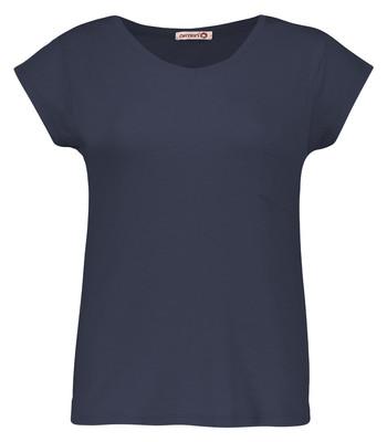 تی شرت زنانه افراتین کد2515/3 رنگ سرمه ای