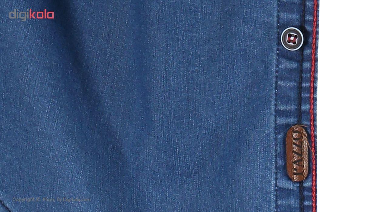 پیراهن مردانه پازو کد L-B main 1 6