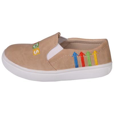 تصویر کفش دخترانه مدل کیدز کد 3595 رنگ کرم
